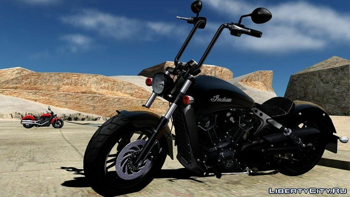 Indian® Scout® Sixty 2018 для GTA San Andreas - скриншот #5