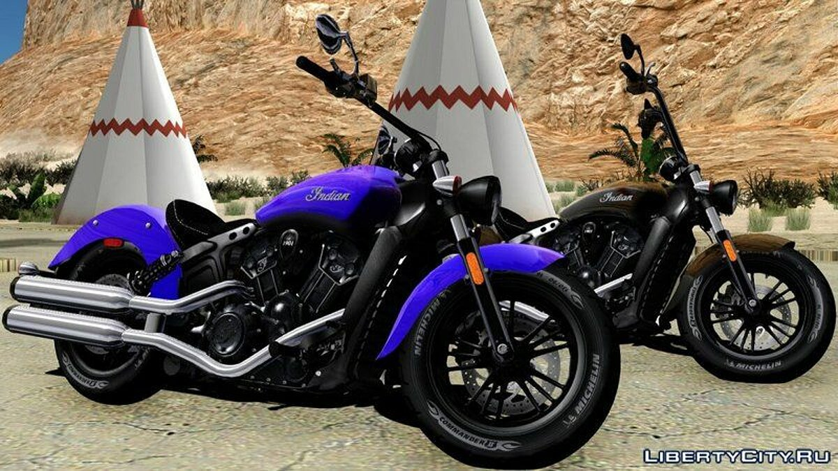Indian® Scout® Sixty 2018 для GTA San Andreas - скриншот #7