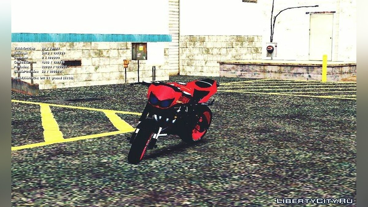 Kawasaki Ninja 250 R Streetrace Naked Bike для GTA San Andreas