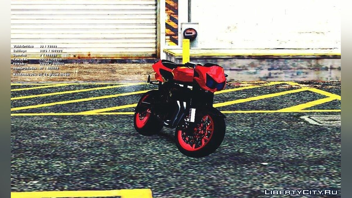 Kawasaki Ninja 250 R Streetrace Naked Bike для GTA San Andreas - скриншот #5