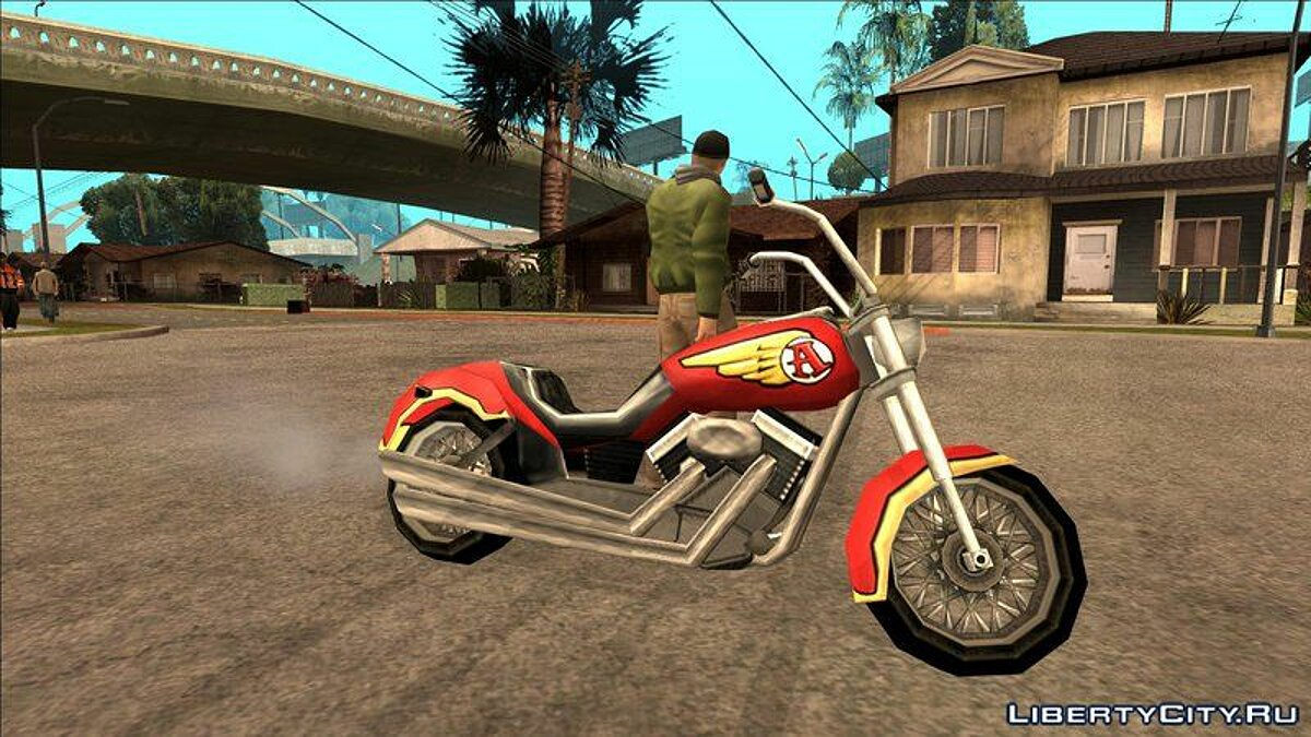 Мотоцикл Liberty City Stories Mobile Avenger для GTA San Andreas