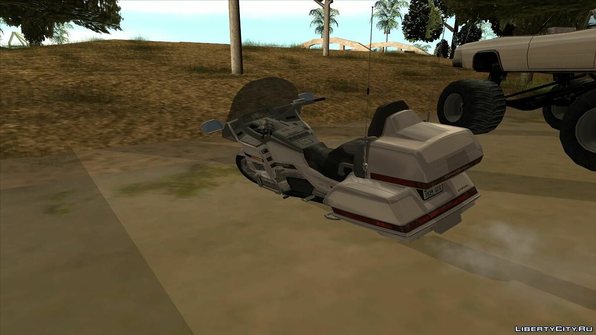 1990 Honda Goldwing GL 1500 для GTA San Andreas - скриншот #2
