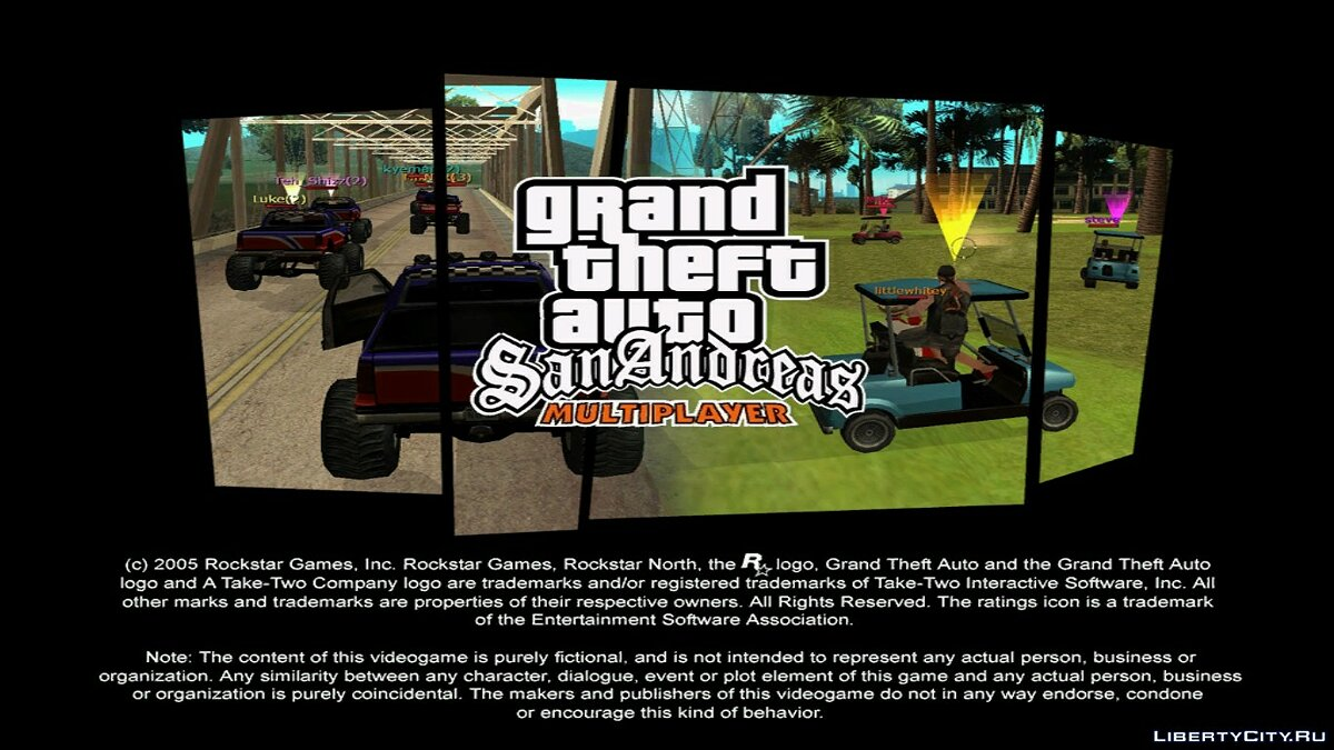 Клиент SAMP 0.1b + WindowsServer для GTA San Andreas