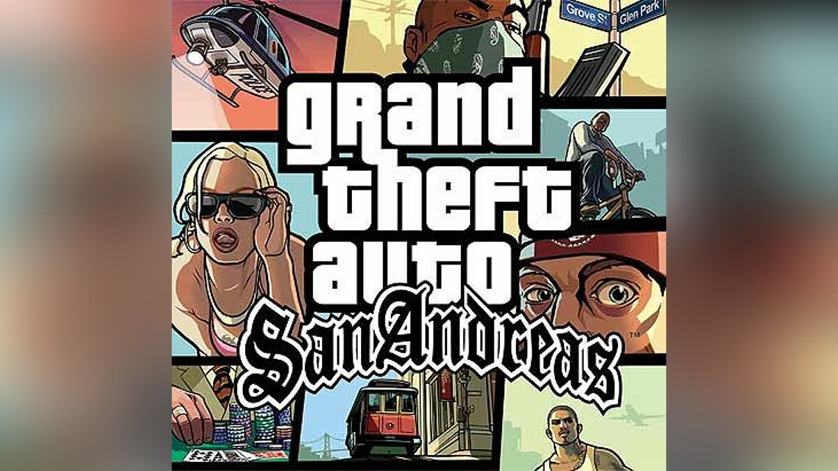 The Theme From San Andreas для GTA San Andreas - Картинка #1