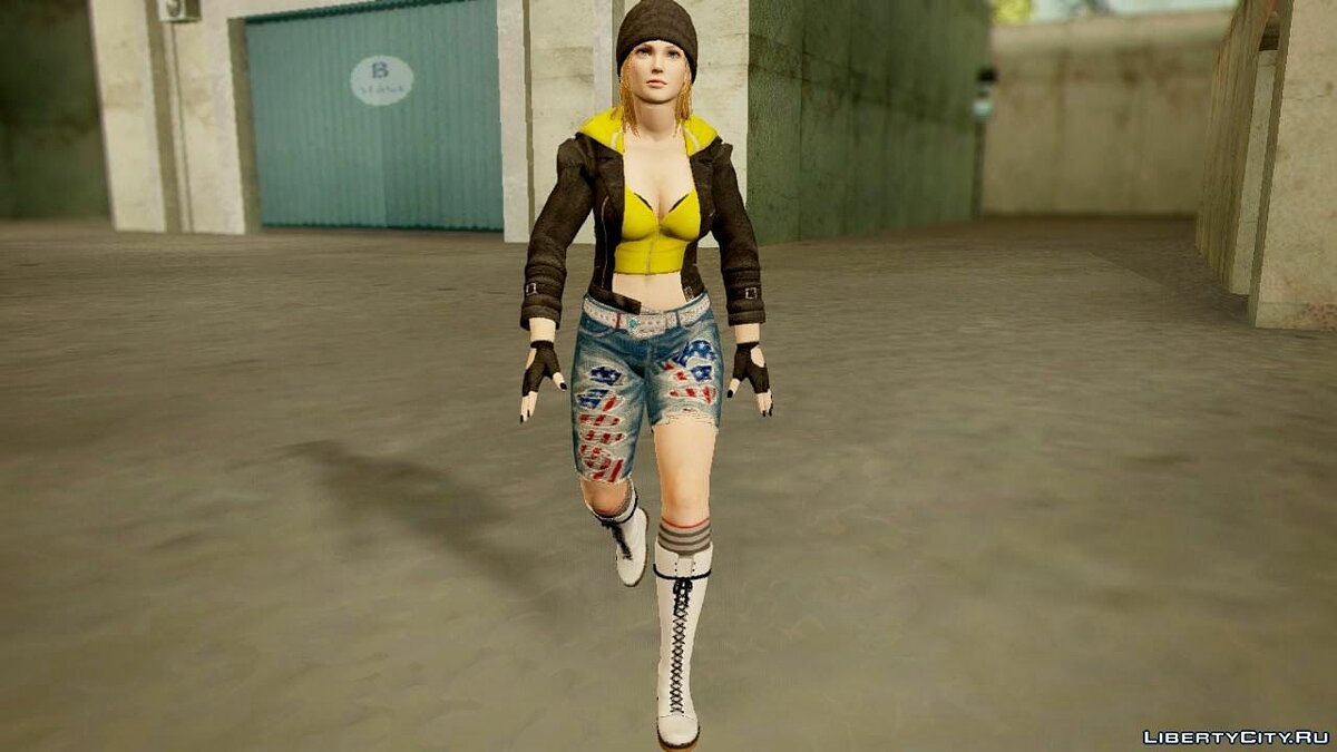 Dead Or Alive 5 Tina Casual для GTA San Andreas - скриншот #2