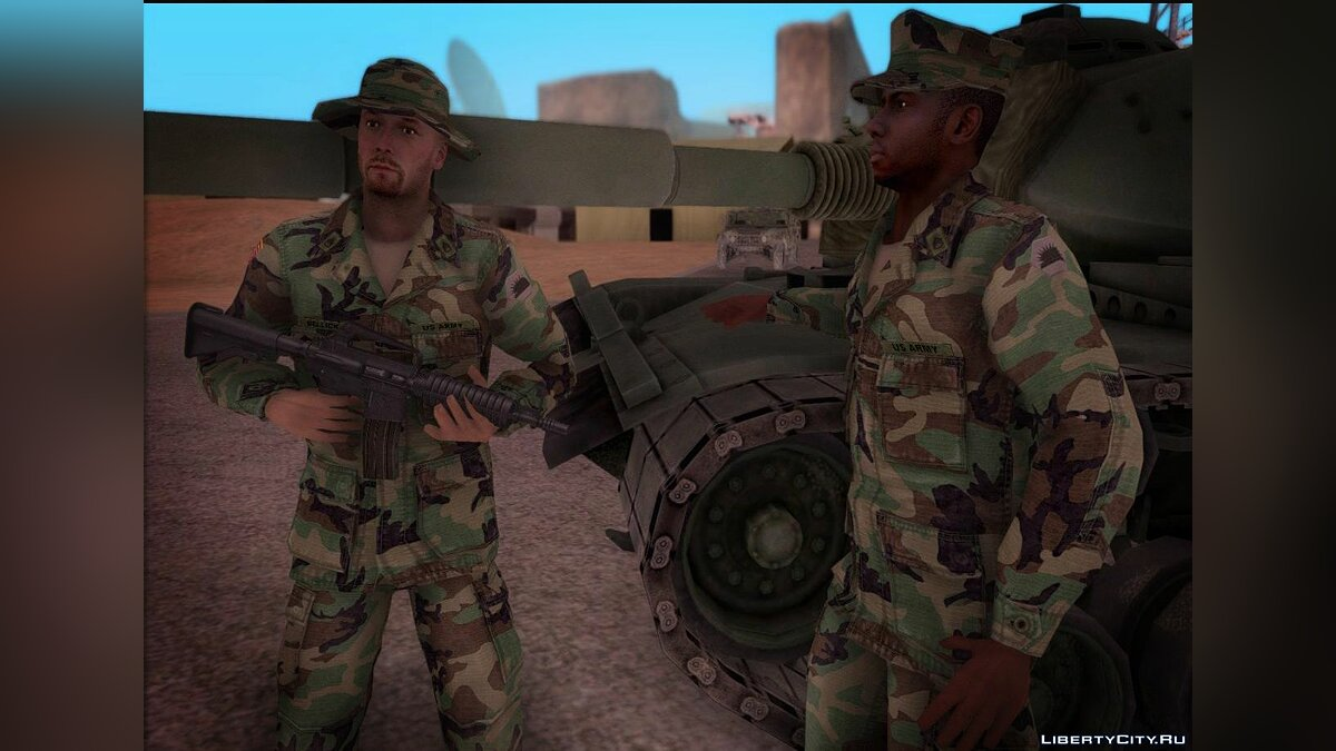 90s California National Guard для GTA San Andreas - скриншот #3