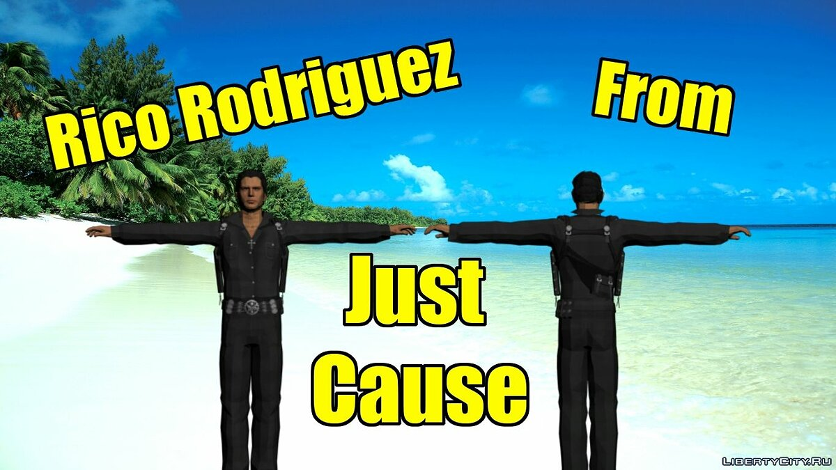 Rico Rodriguez From Just Cause для GTA San Andreas
