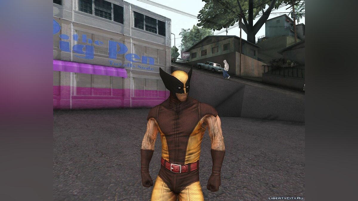 X-men Origins: Wolverine [Skins Pack] для GTA San Andreas - скриншот #4
