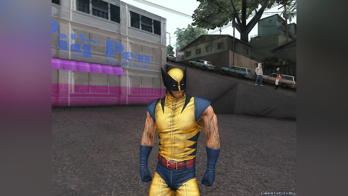 X-men Origins: Wolverine [Skins Pack] для GTA San Andreas - скриншот #2