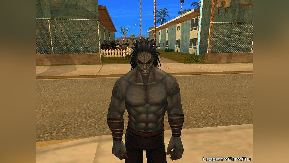 Lash from Marvel Future Fight для GTA San Andreas