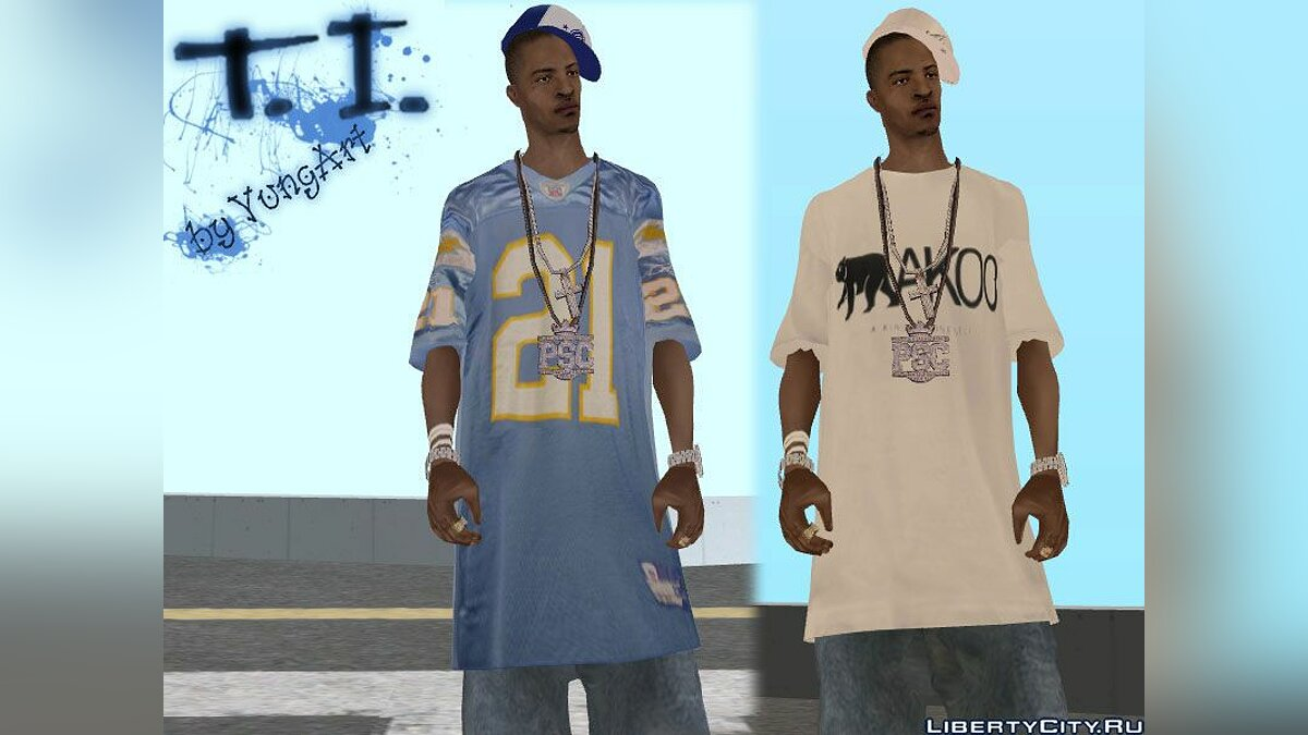 T.I. King of the South mod 0.9 (Includes Fix) для GTA San Andreas