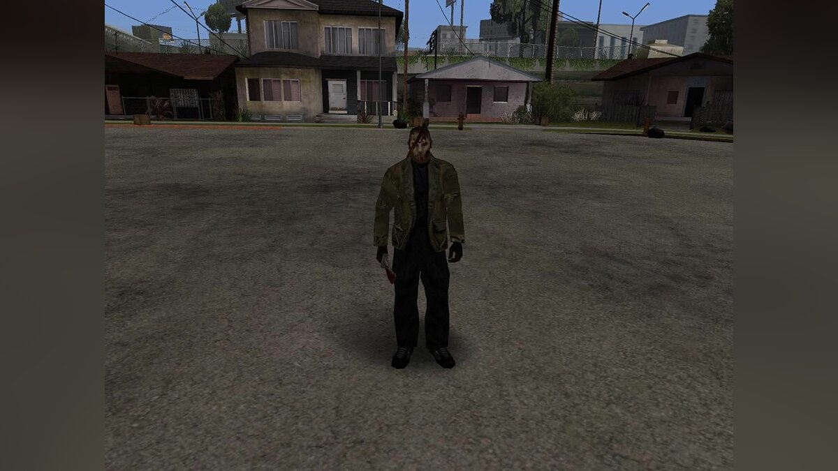 Friday 13th Jason для GTA San Andreas