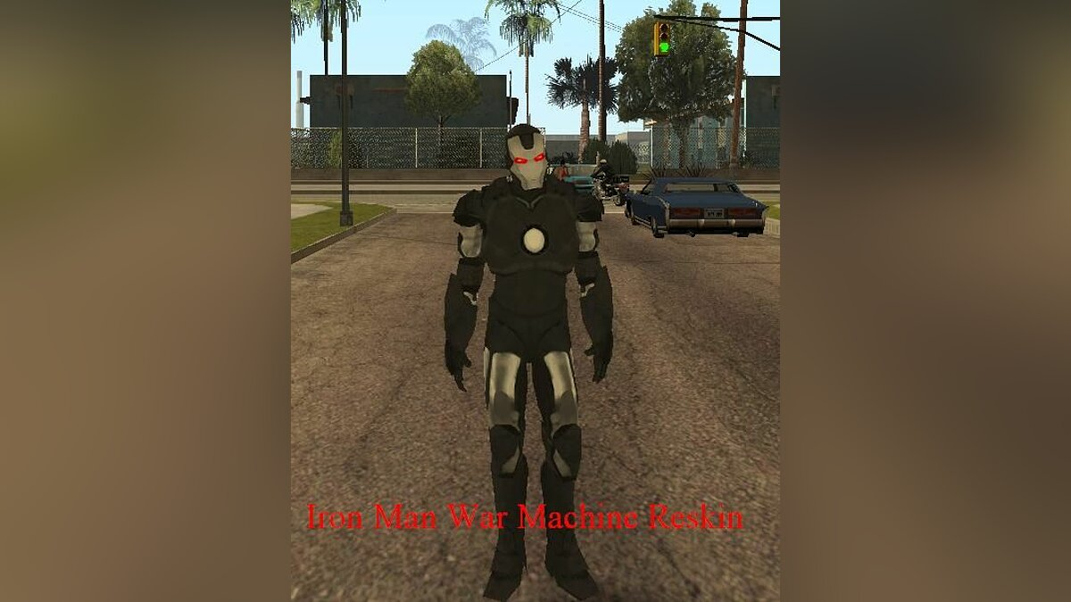 Iron Man War Machine Reskin для GTA San Andreas