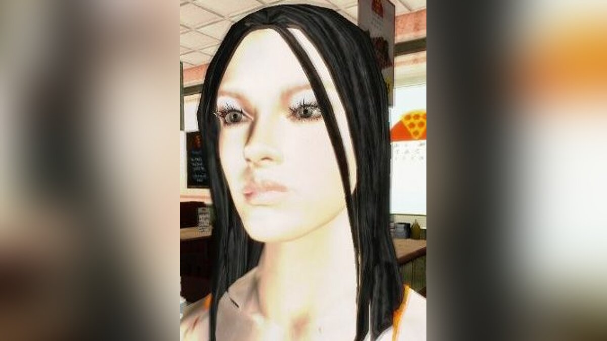 Excella Girlfriend Mod для GTA San Andreas