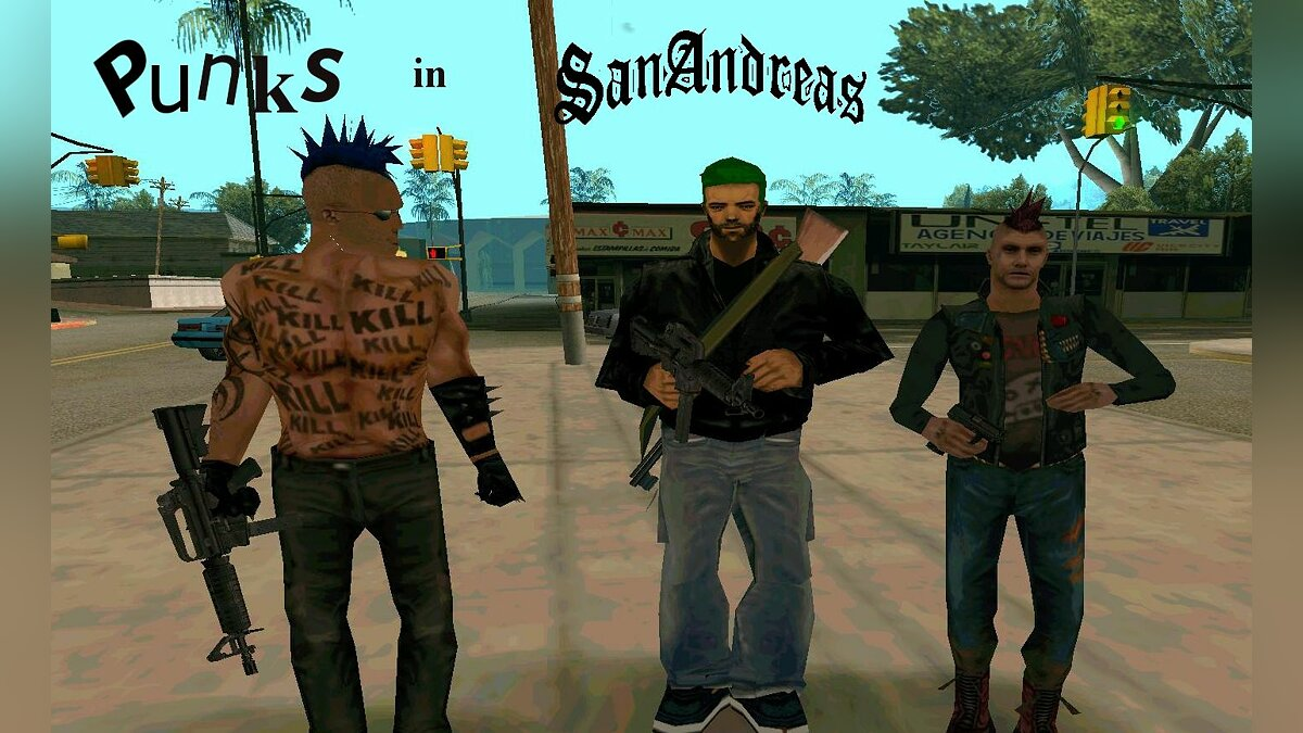 Punks to San Andreas для GTA San Andreas