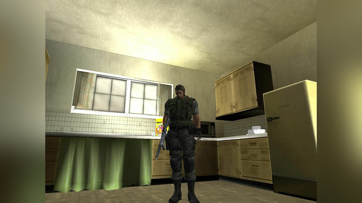 Chris Redfield для GTA San Andreas