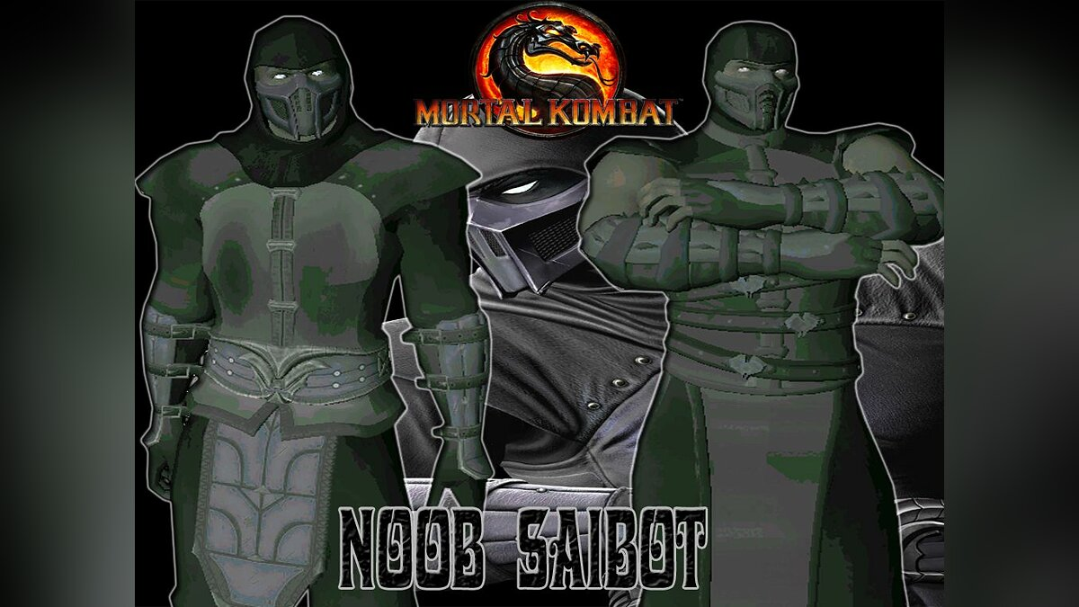 Noob Saibot from mortal kombat 9 для GTA San Andreas
