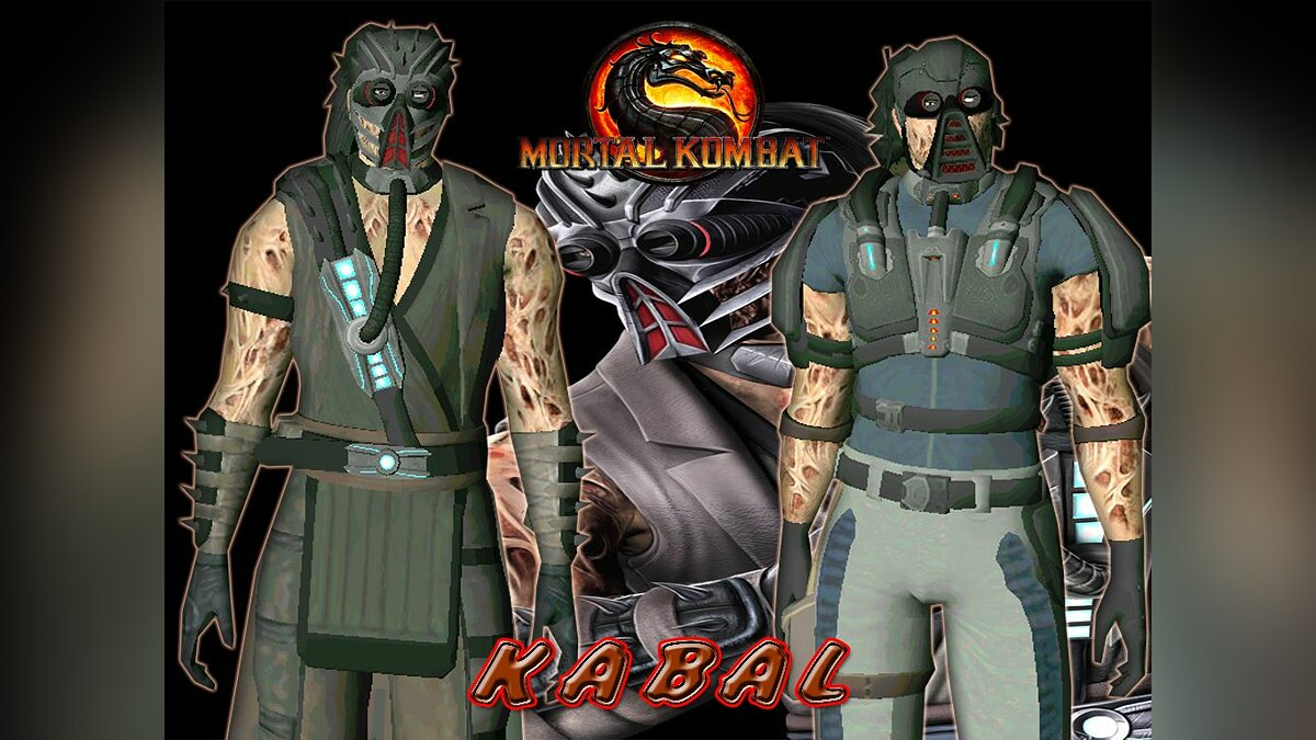 Kabal from mortal kombat 9 для GTA San Andreas