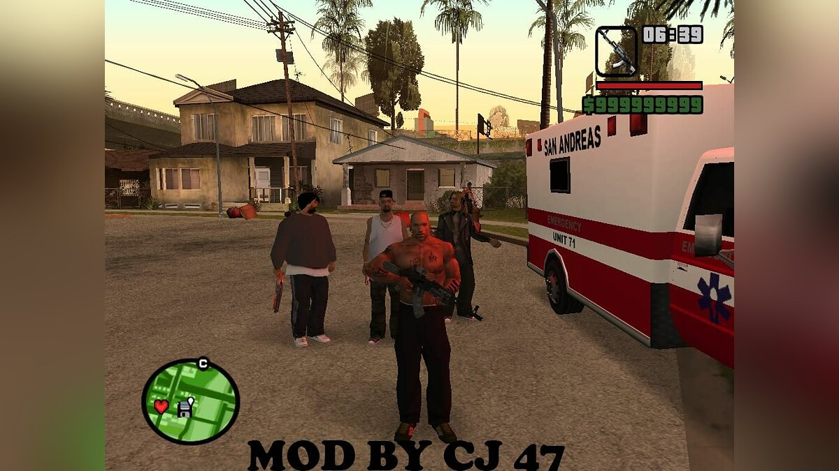 New gang Grove Street для GTA San Andreas