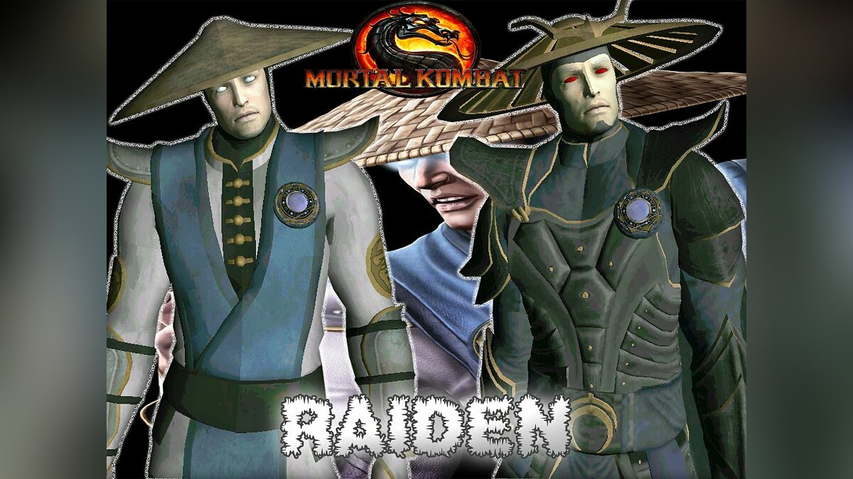 Raiden from mortal kombat 9 для GTA San Andreas