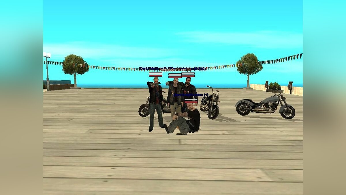 Hell Angels MC для GTA San Andreas