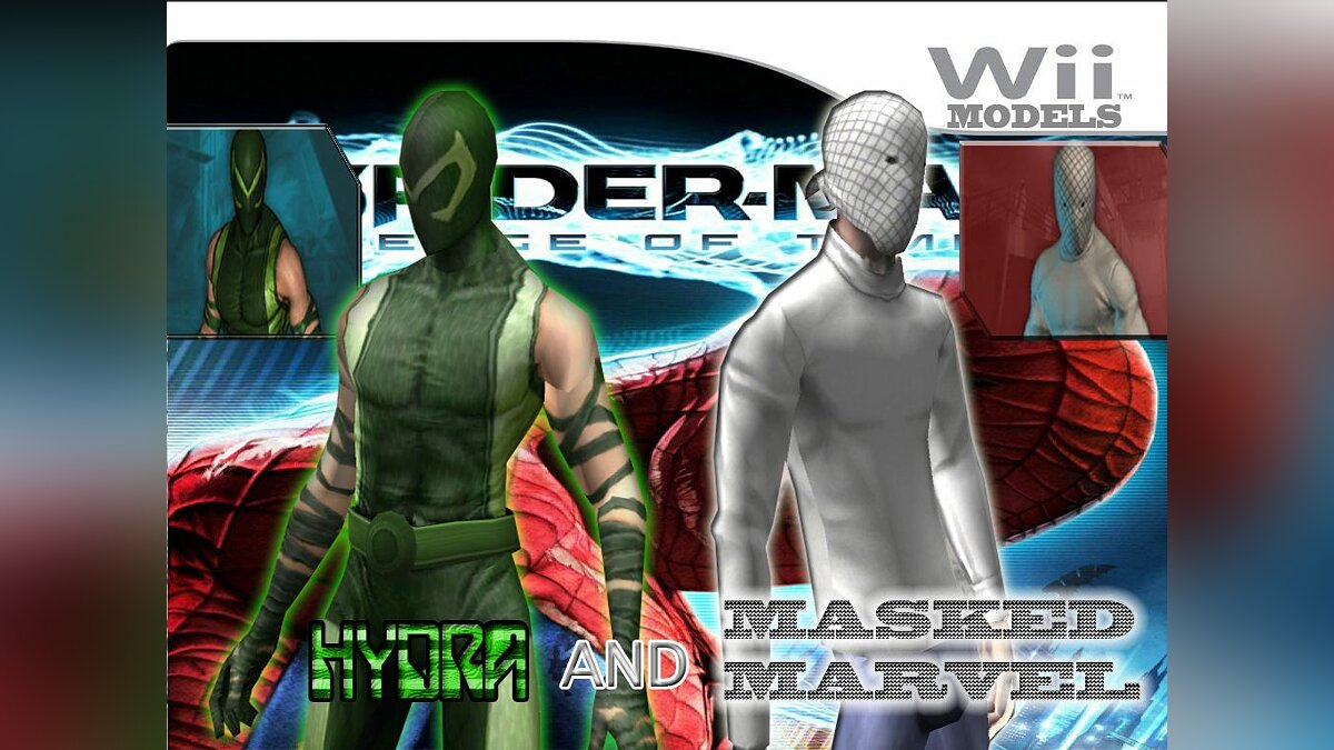 Hydra and Masked marvel для GTA San Andreas