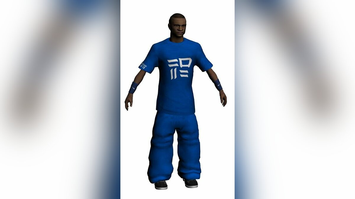 Blue from Storm FreeRun для GTA San Andreas