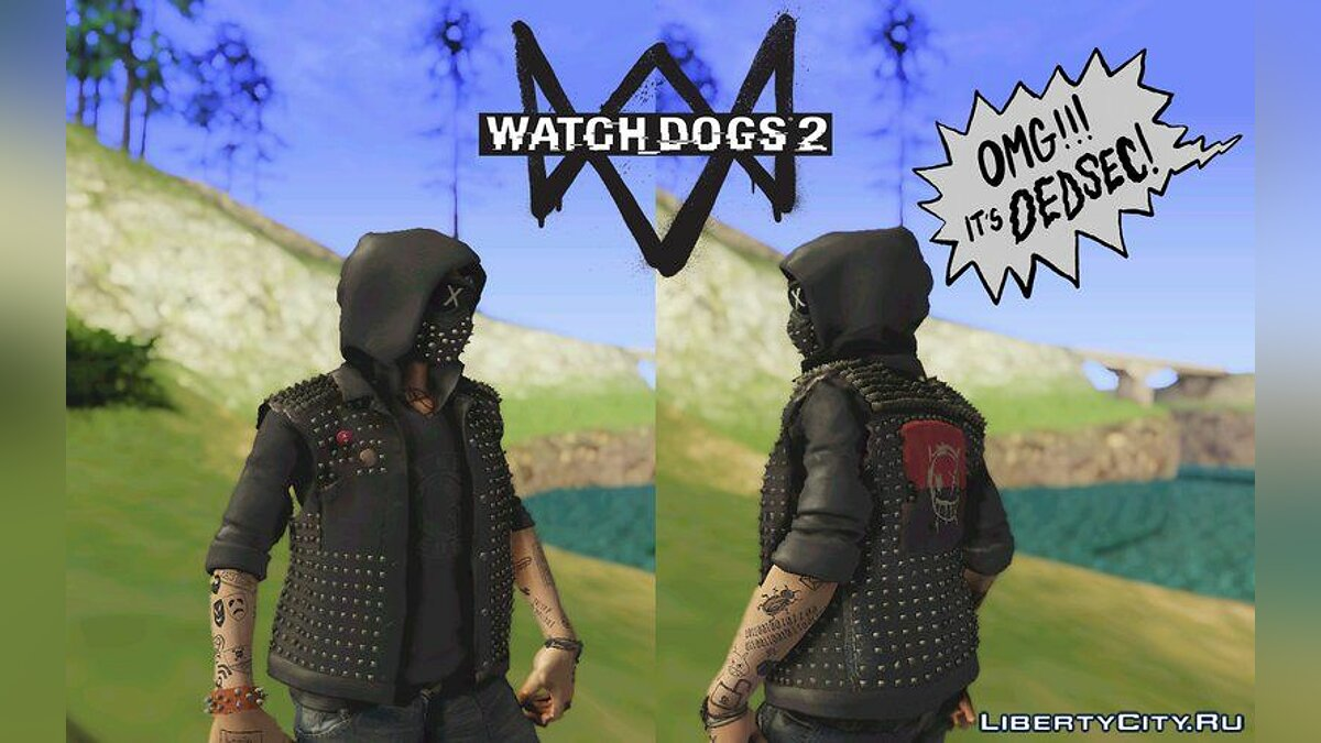 Watch Dogs 2: Wrench для GTA San Andreas