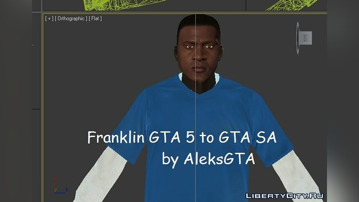 Franklin v2 GTA 5 to GTA SA для GTA San Andreas - скриншот #4