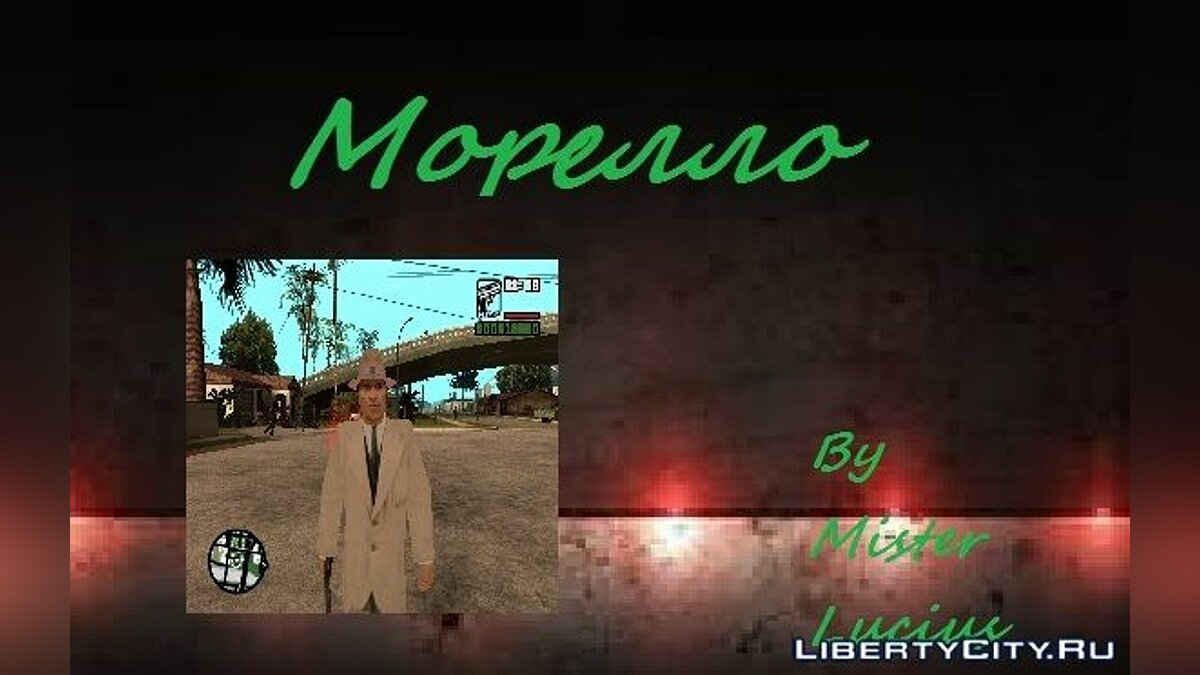 Дон Морелло из Mafia : The City Of Lost Heaven для GTA San Andreas