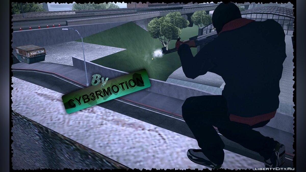 Franklin by Cyb3rMotion для GTA San Andreas - скриншот #2