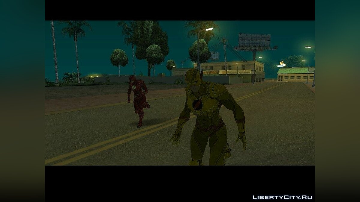 Flash and Dr.Zoom для GTA San Andreas