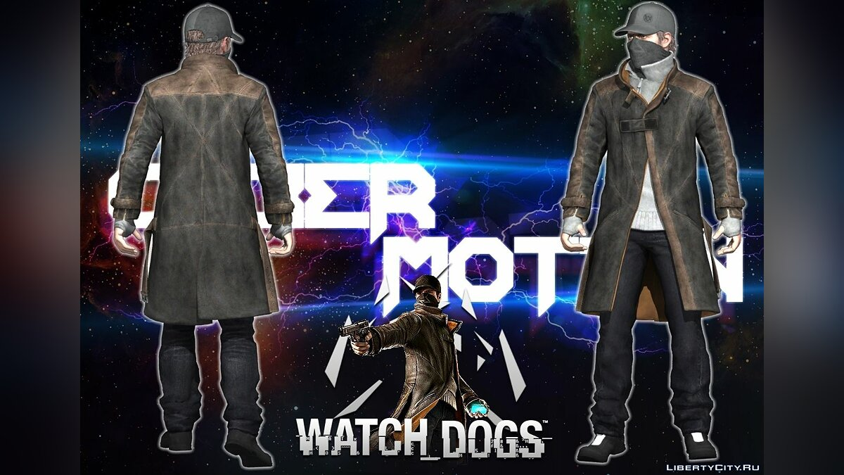[Watch_Dogs] Aiden Pearce для GTA San Andreas