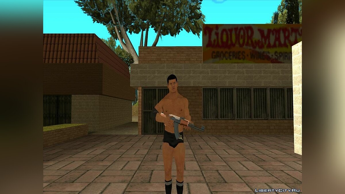Smackdown Vs Raw 2011 Cody Rhodes для GTA San Andreas