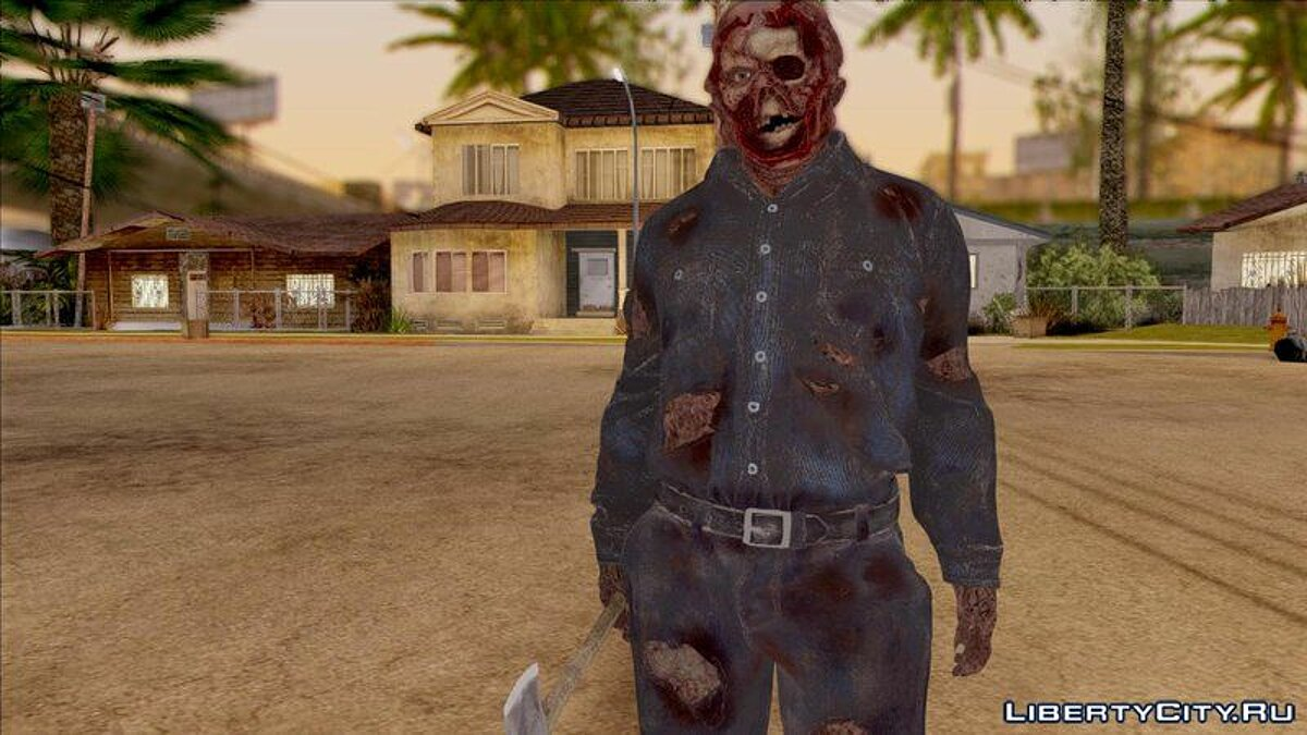 ��овый персонаж Friday The 13th - Jason Voorhees (Part IX) для GTA San Andreas
