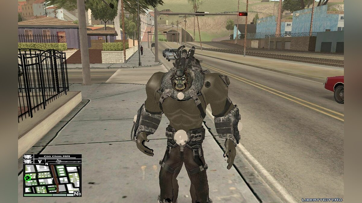 Bane Boss from Batman Arkham City для GTA San Andreas