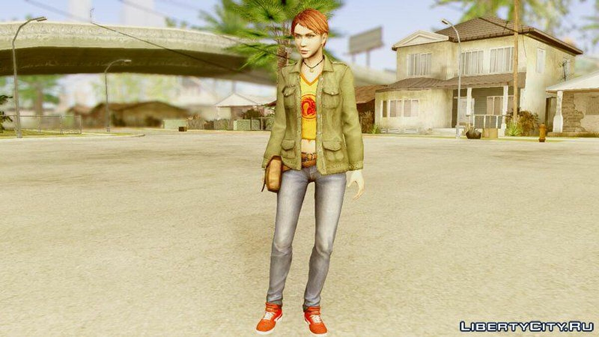Dead Rising 2 Stacey для GTA San Andreas
