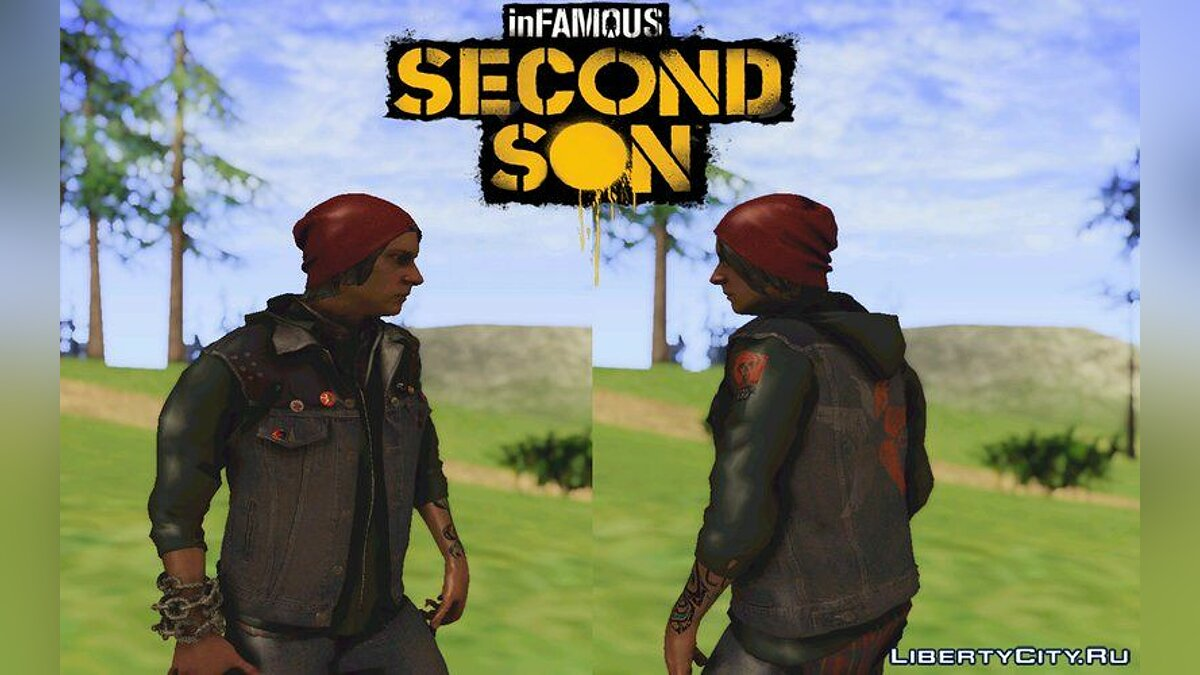 Infamous Second Son: Delsin Rowe PS4 [UPDATE] для GTA San Andreas