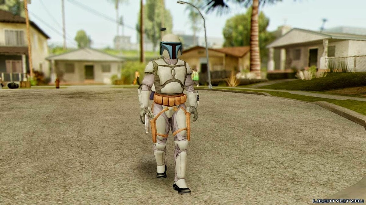 Star Wars Repulic Commando 2 Jango Fett для GTA San Andreas