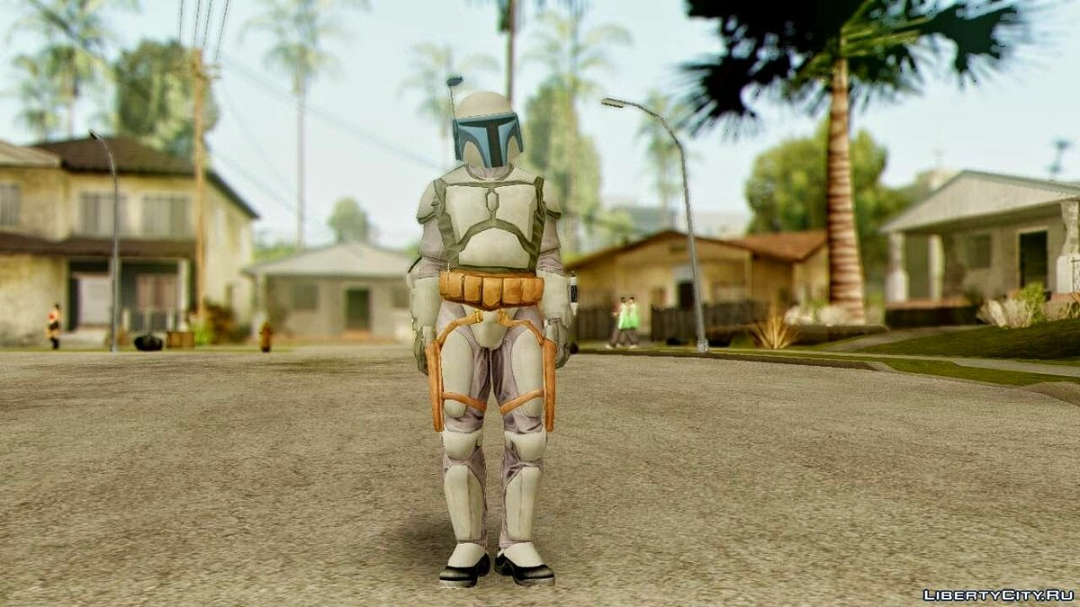 Star Wars Repulic Commando 2 Jango Fett для GTA San Andreas - скриншот #2