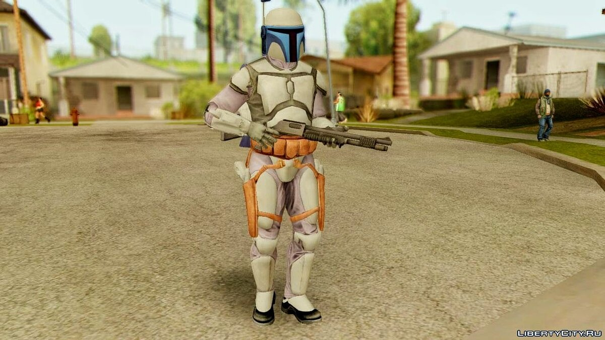 Star Wars Repulic Commando 2 Jango Fett для GTA San Andreas - скриншот #3
