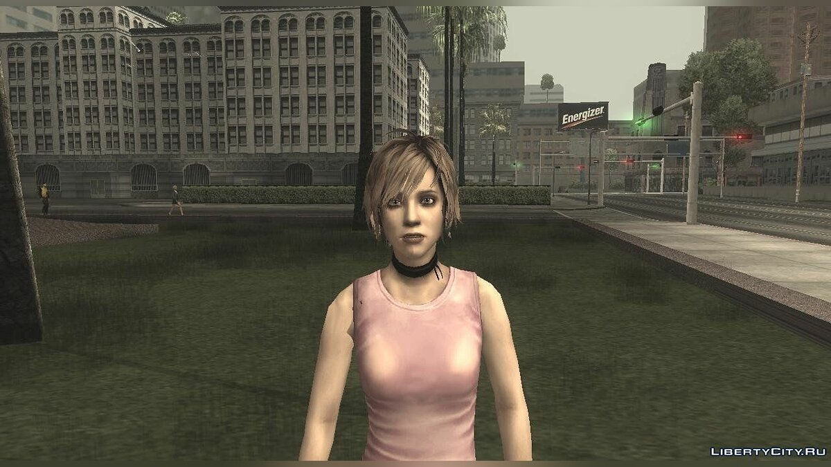 Silent Hill 3 - Heather Redone Less Gloomy для GTA San Andreas