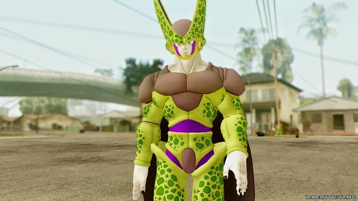 Dragon Ball Xenoverse Cell Perfect для GTA San Andreas