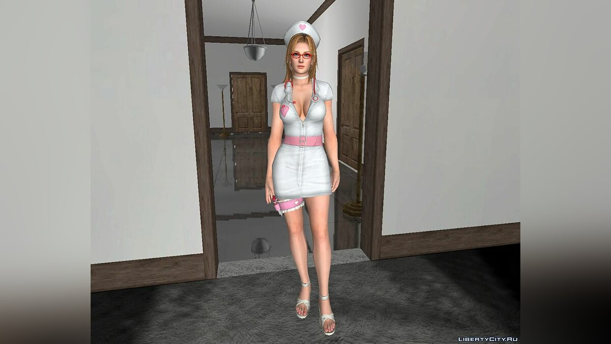 Новый персонаж Tina Armstrong [Nurse] From DOA5 Ultimate для GTA San Andreas