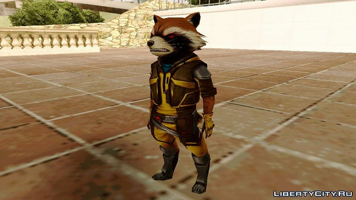Marvel Future Fight - Rocket Raccon (ANAD) для GTA San Andreas