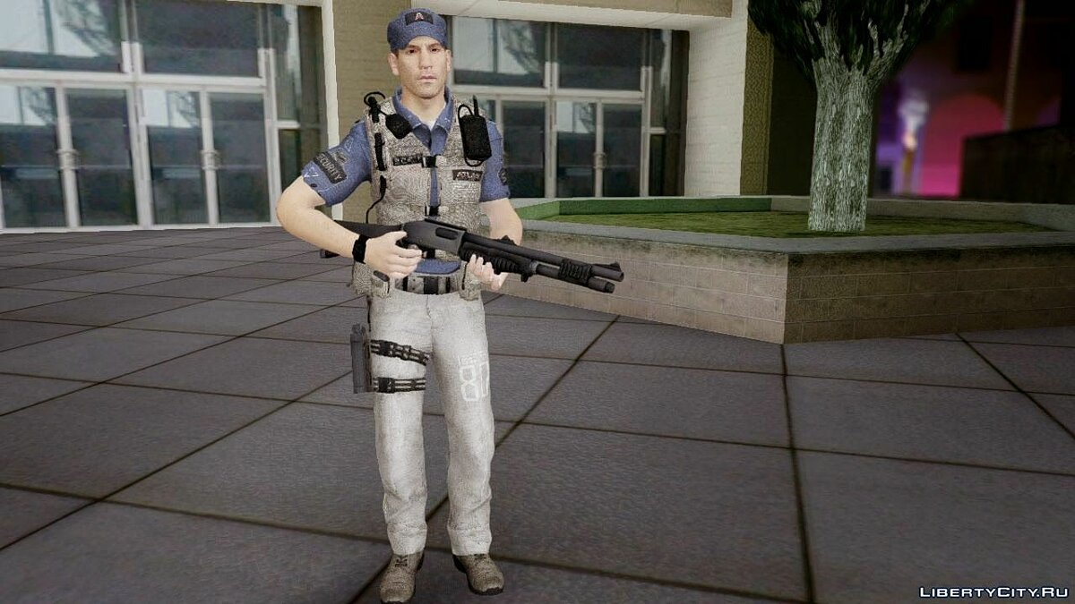 COD Advanced Warfare Jon Bernthal Security Guard(Shane from The Walking Dead) для GTA San Andreas - скриншот #3