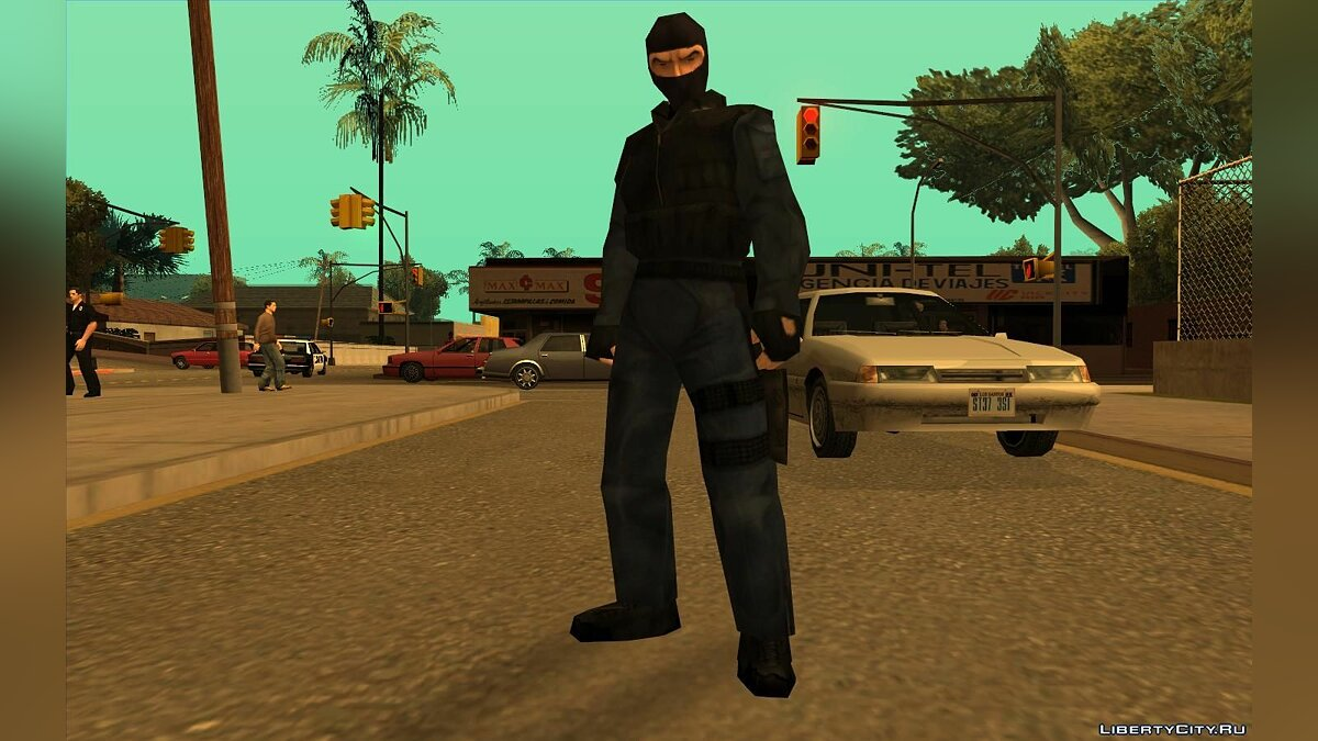 Urban From Counter Strike Beta 1.1 для GTA San Andreas - скриншот #2