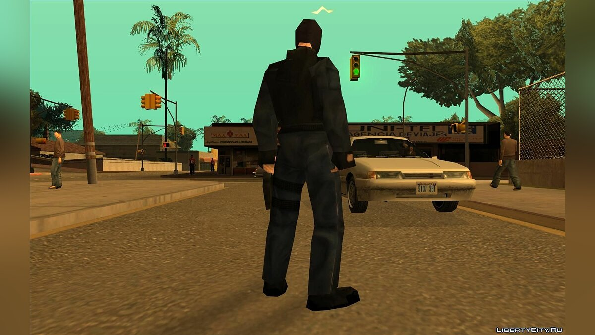 Urban From Counter Strike Beta 1.1 для GTA San Andreas - скриншот #3