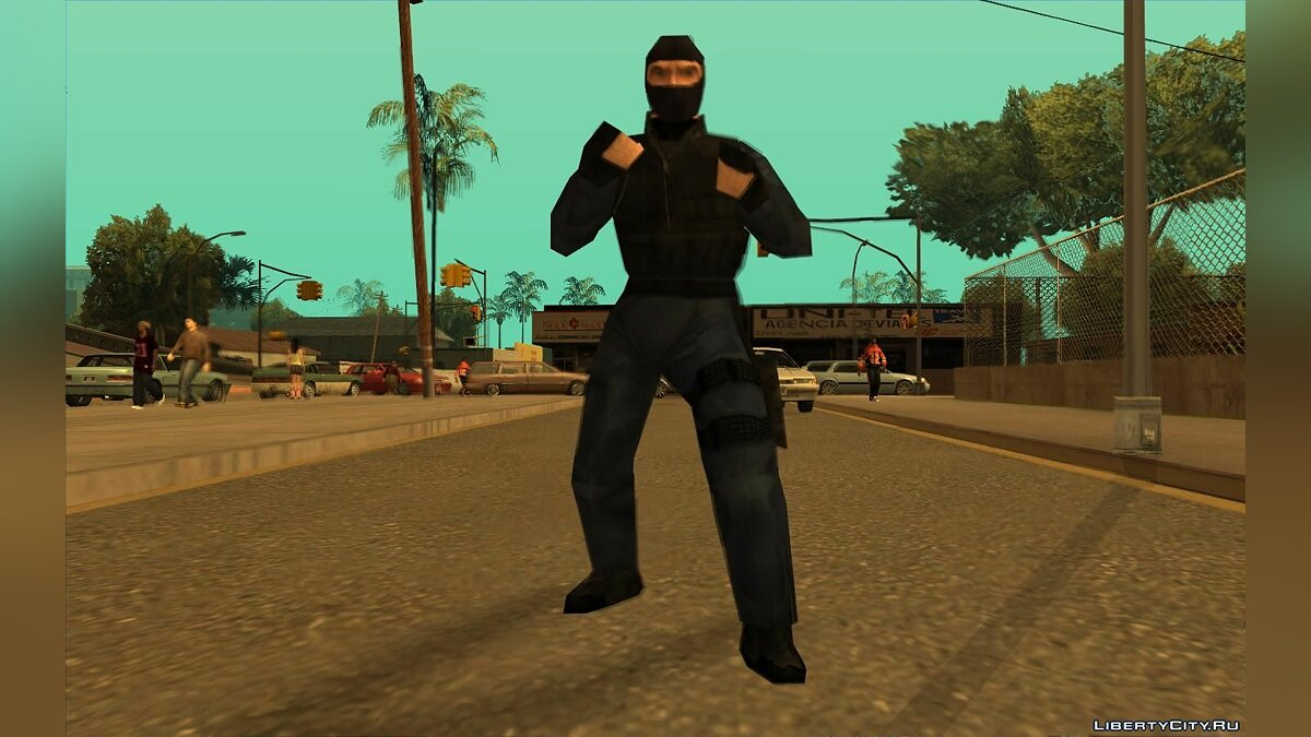 Urban From Counter Strike Beta 1.1 для GTA San Andreas - скриншот #4