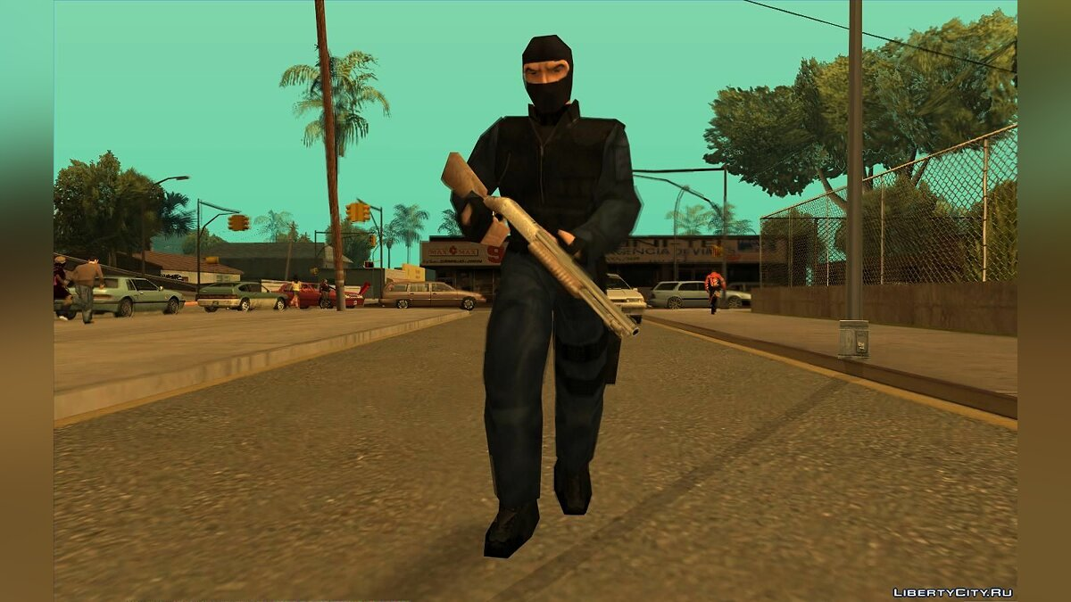 Urban From Counter Strike Beta 1.1 для GTA San Andreas - скриншот #5